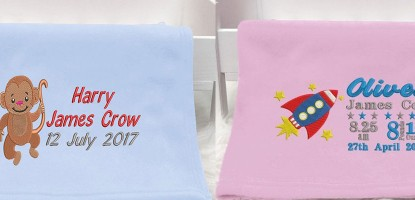 10 reasons you should opt for a personalised baby blanket
