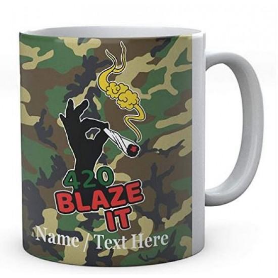 420 Blaze It Weed-Personalised Name
