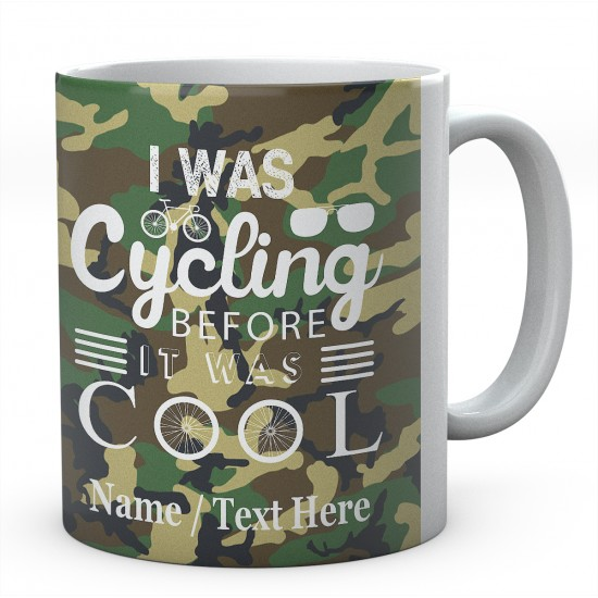 I was Cycling Before It was Cool-PersonalisedCyclist - Bicycle Mug