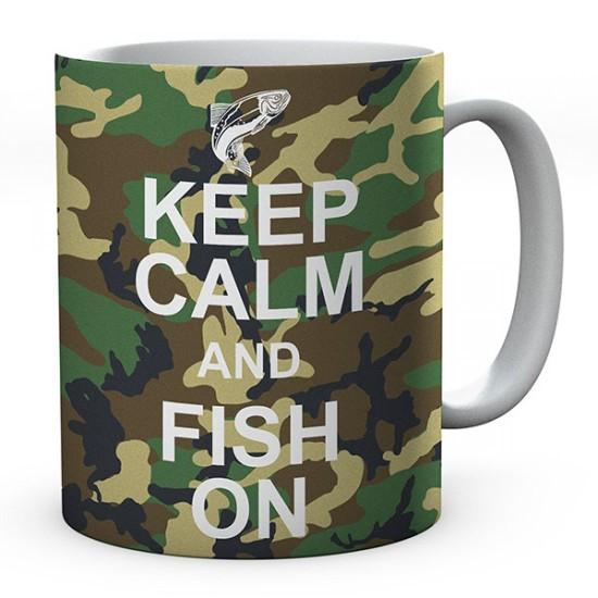 Keep Calm And Fish On
