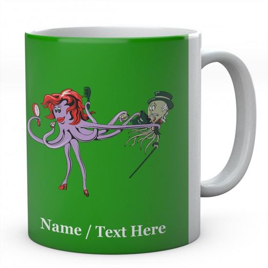 Mr & Mrs Octopus - Squid Mug Personalised