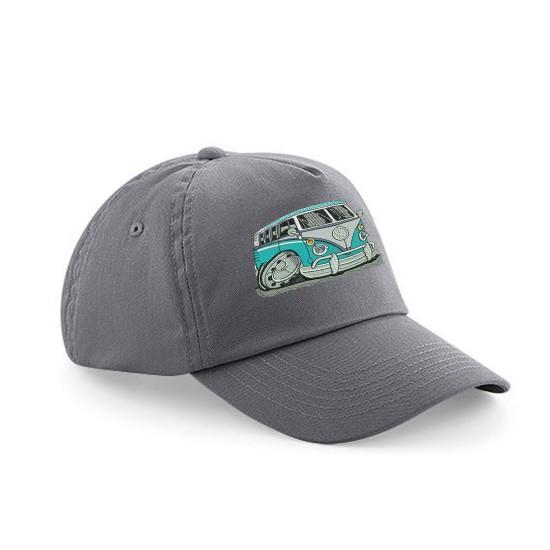 Children's Cap With Embroidered Koolart Camper