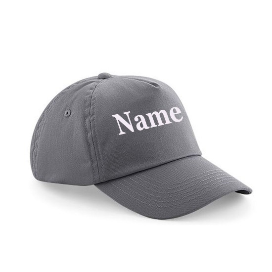 Child's Cap Personalised With Name