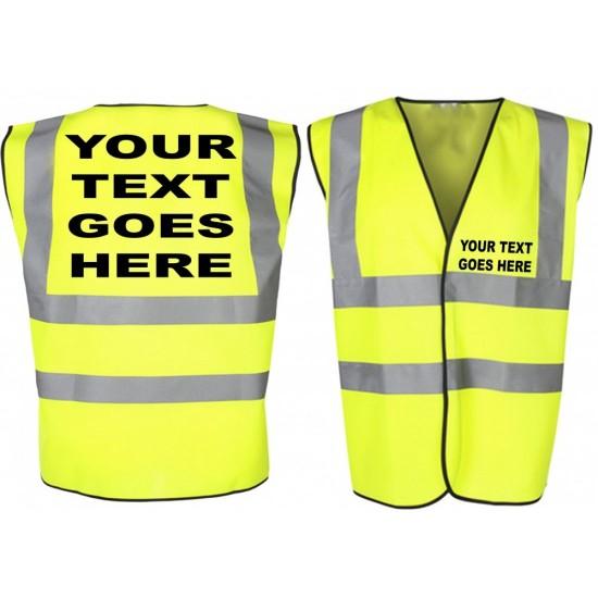 Personalised Printed Hi-Vis Vest