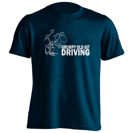 Grumpy Old Git Driving T Shirt