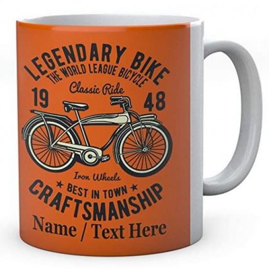 Legendary Bike The World League Bicycle Classic Ride Craftsmanship- Mug