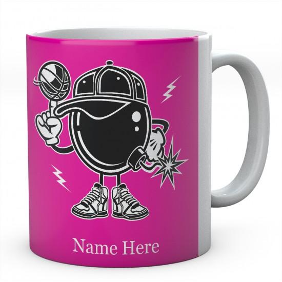 Basketball Bomber - Personalised Funny Ceramic Mug