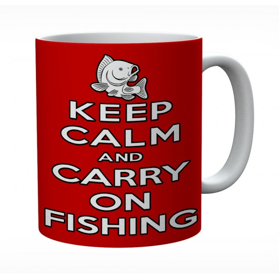 Keep Calm And Carry On Fishing
