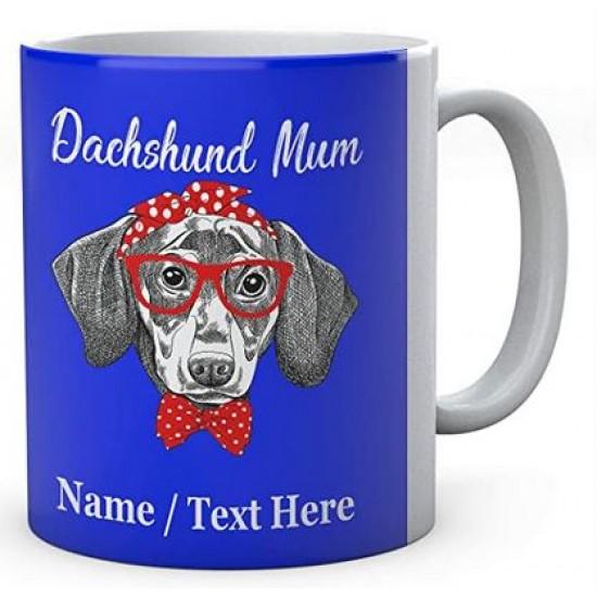 Dachshund Dog Mum - Personalised Name Mug