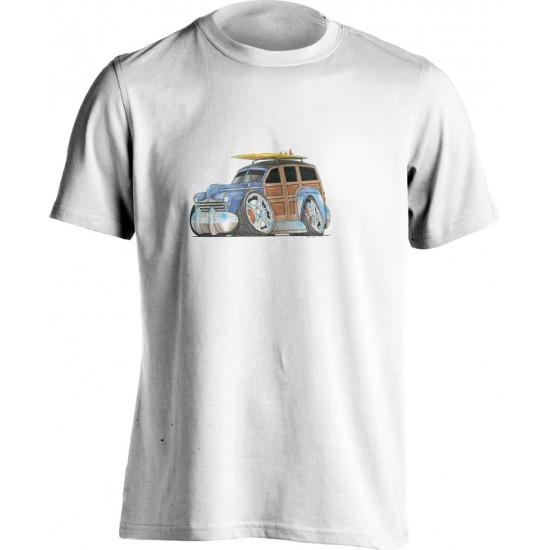 Koolart 1940's Surf Wagon (1360) T shirt