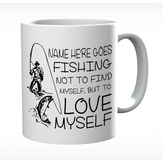 Personalised With A Fuck Fuck Here Cat Mug