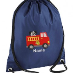 personalised embroidered gym bag