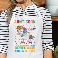 Aunticorn Like A Normal Aunt, Only More Awsome Apron