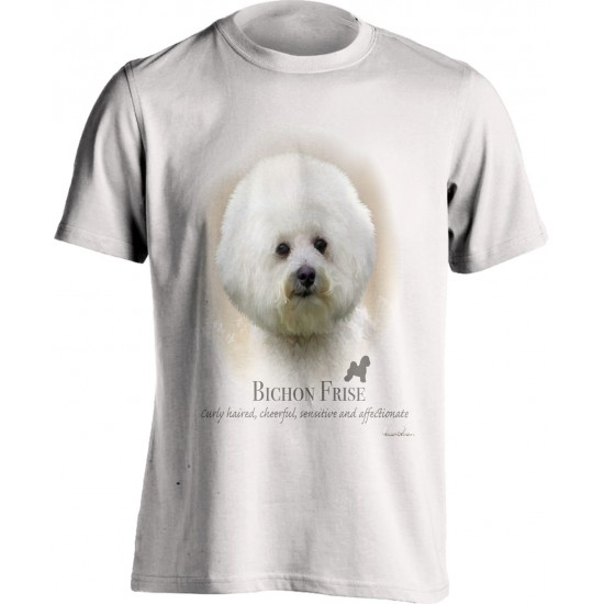 Bichon Frise Printed T shirt