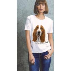 Basset Hound Ladies T Shirt