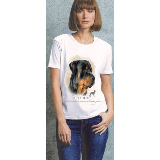 Rottweiler Ladies T Shirt