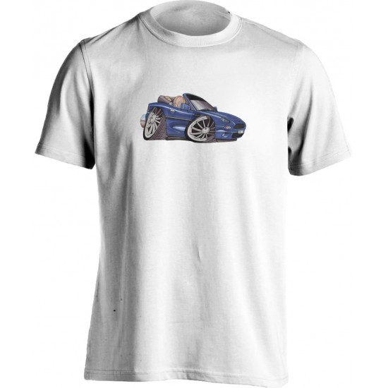 Koolart Aston Martin DB7-0343 Blue Child's T Shirt