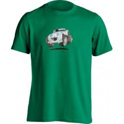 Koolart Austin Healey Frog-Eye Sprite White 0771 Child's T Shirt
