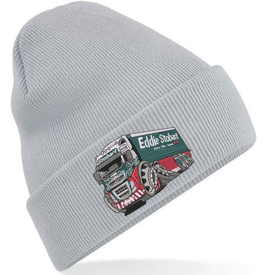 Koolart Embroidered Stobart Adults Unisex Knitted Cuffed Beanie/Hat