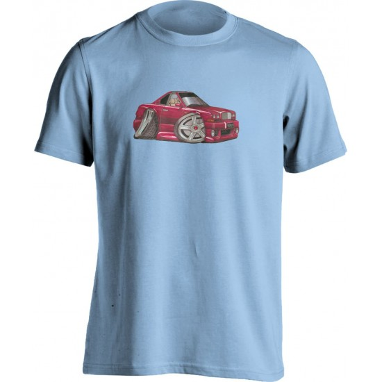 Koolart Bentley Continental Red-0707-Unisex Adults T Shirt