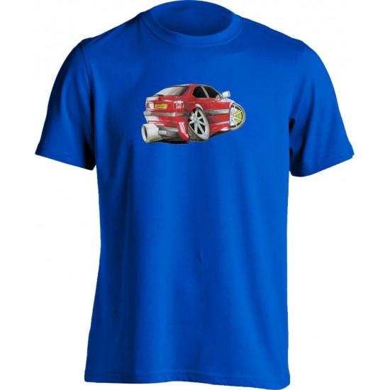 Koolart BMW Compact Red -1200- Adults Unisex T Shirt