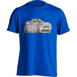 KoolartBMW Z8 Silver-1072 Adults Unisex Kartoon T Shirt