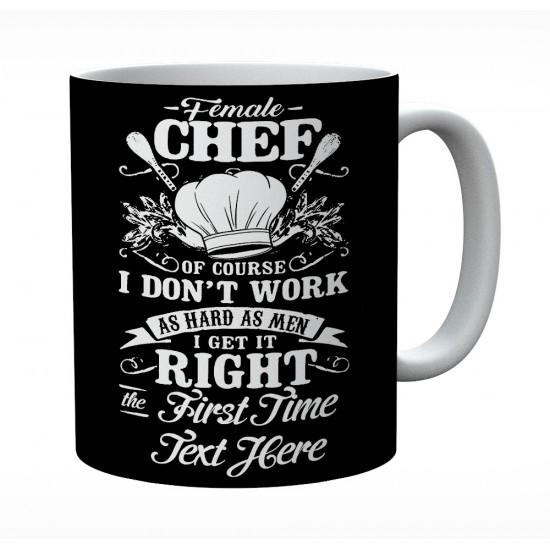 Female Chef Of Course I Don't Work As Hard As Men