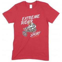Extreme Rider- Extreme Sport BMX-Unisex Kids T Shirt Boys-Girls