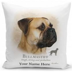 Bullmastiff Dog Cushion