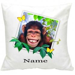 PersonalisedChimp Selfie Printed Cushion