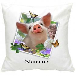 PersonalisedPiglets Selfie Printed Cushion