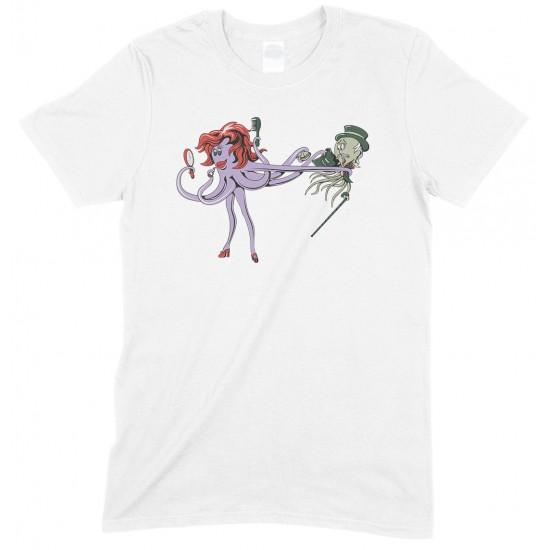 Mr & Mrs Octopus - Squid Unisex T Shirt