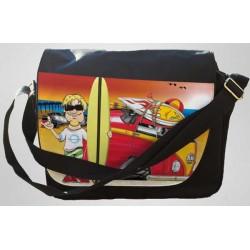 Koolart Camper Van Personalised (2117)Messenger Bag