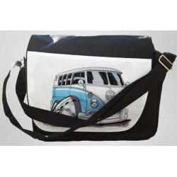 Koolart Camper Van Personalised Messenger Bag