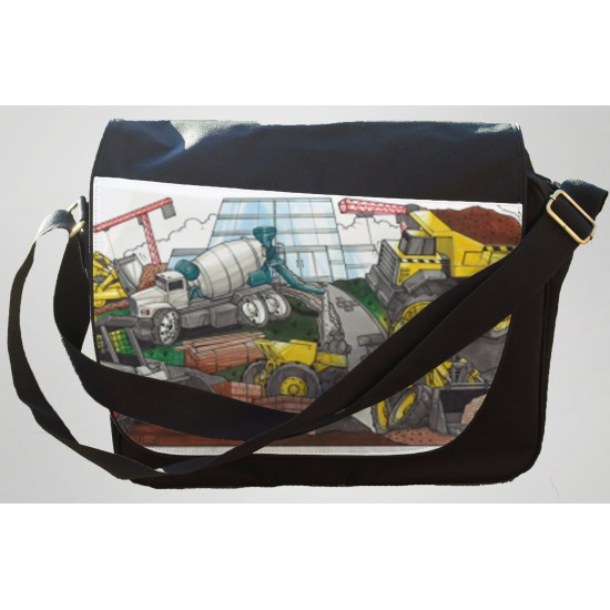 Koolart Construction Site 1806 Messenger/Reporters Bag