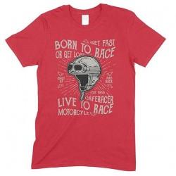 Children's Born to Race Live to Race -Unisex-T Shirt Boy-Girl