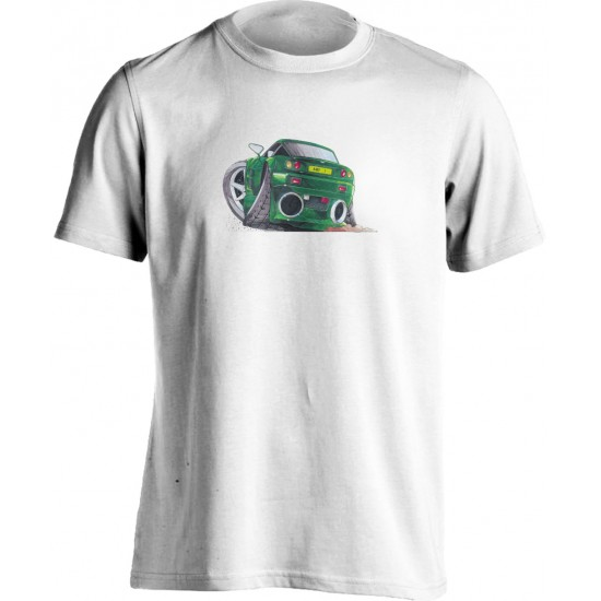 Adults Koolart Aston Martin Vantage Green 1184 T Shirt