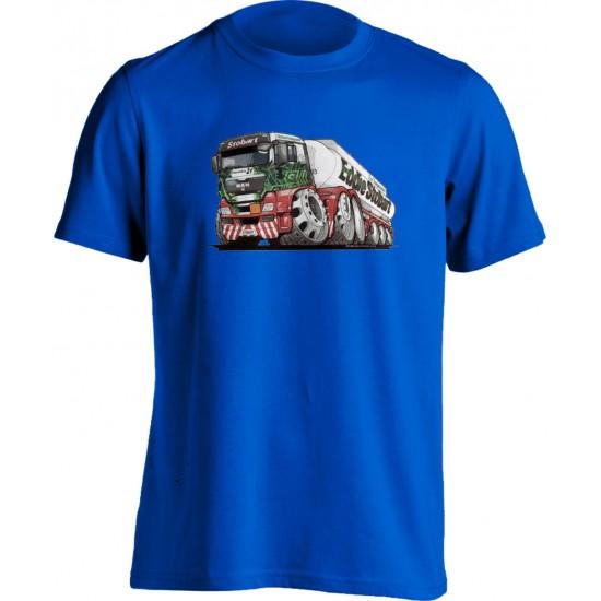 Koolart Eddie Stobart Fuel Transportation (3191) Adults T Shirt