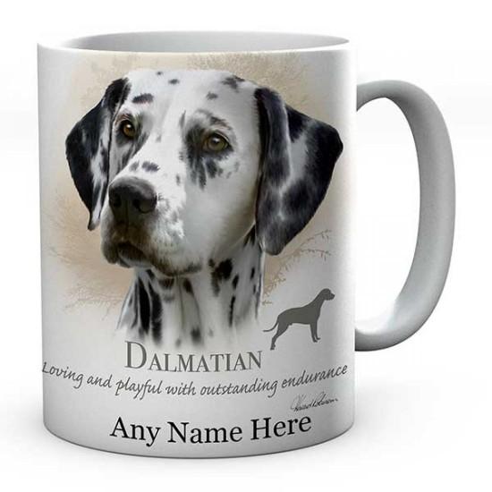 Personalised Dalmatian Dog Mug