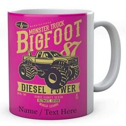 Monster TruckBig Foot Vehicle-Ceramic Mug