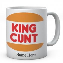 King Cunt Personalised Ceramic Mug