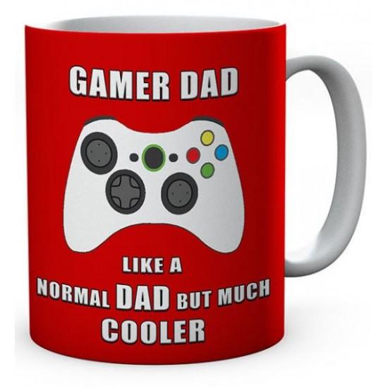 Gamer Dad Like A Normal Dad But Much Cooler Ceramic Mug