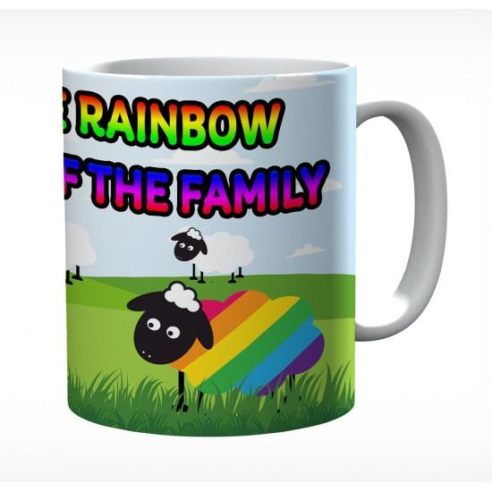 I'm The Rainbow Sheep Of The Family 1 Mug