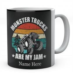 Monster Trucks Are My Jam Ceramic Mug
