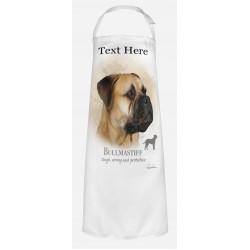 Personalised Bullmastiff Dog Apron