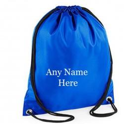 Personalised Printed Any Name Drawstring Gym Bag