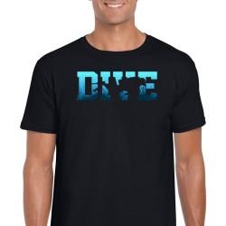 Dive Unisex Black T Shirt