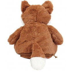 Mumbles Fox Soft Toy-Embroidered With Personalised Name