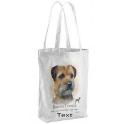 Border Terrier Dog Tote Bag