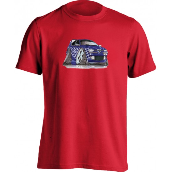 Koolart 156 Tuning Blue– 2783 Alfa Romeo Child's T Shirt